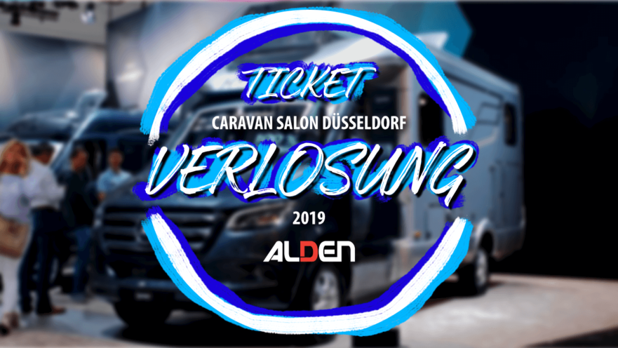 Titelbild für Ticket-Verlosung Caravan Salon Düsseldorf 2019