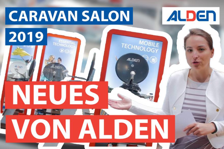 ALDEN Deutschland auf dem Caravan Salon
