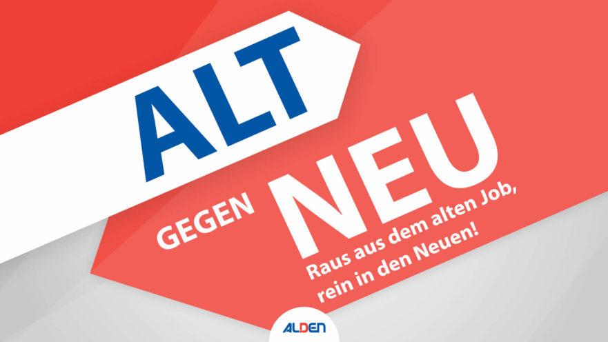 Raus aus dem alten Job, rein in den Neuen. Jetzt als Servicetechniker (m/w/d) bei ALDEN Deutschland bewerben.