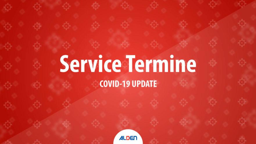 Verschiebung der Service Termine aufgrund von Covid-19